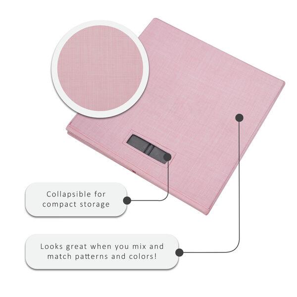 Liam Pink Storage Bin, Pack of 2, image 3