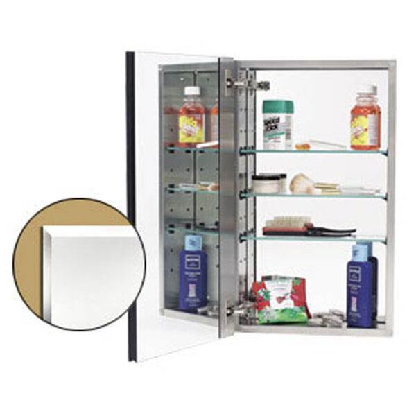 Stainless Steel Mirror Cabinet, image 1