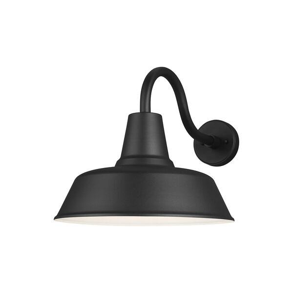 Barn Light Black One-Light Outdoor Wall Lantern, image 1