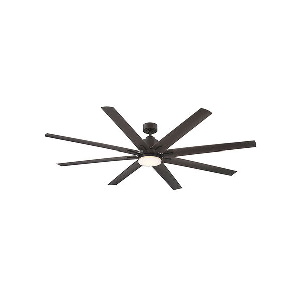 Bluff English bronze LED 72-Inch Outdoor Ceiling Fan, image 1