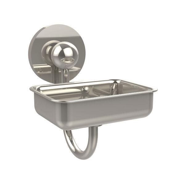 Polished Nickel Wall-Mounted Soap Dish, image 1