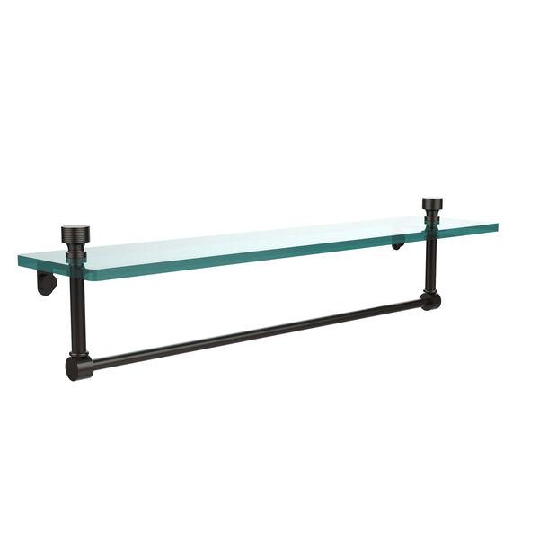 Foxtrot Single Shelf with Towel Bar, image 1