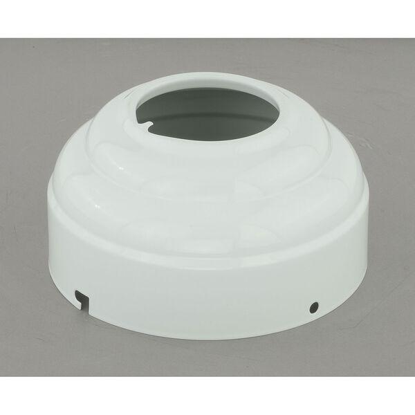 White Sloped Ceiling Fan Adapter Kit, image 1