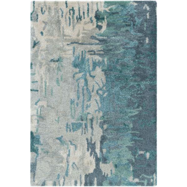 Banshee Blue Rectangular Rug, image 1