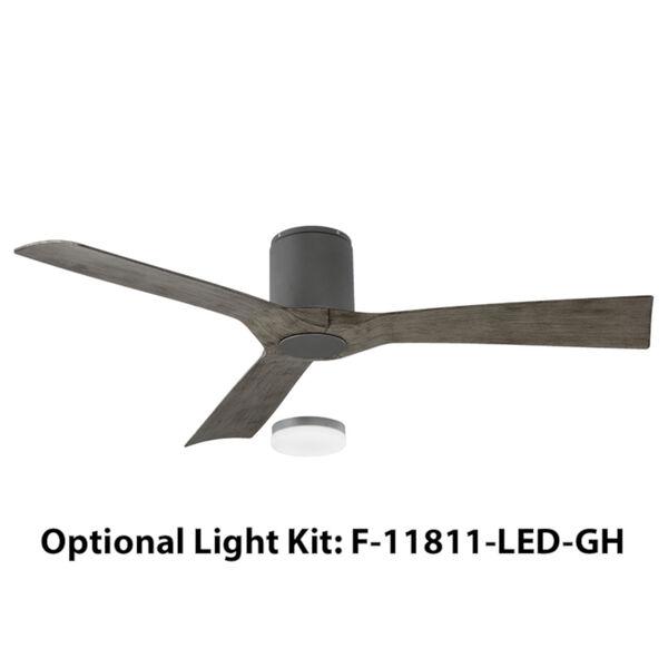 Aviator Graphite 54-Inch Flush Mount Ceiling Fans, image 2