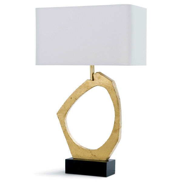 Classics Gold Leaf 30-Inch One-Light Table Lamp, image 1