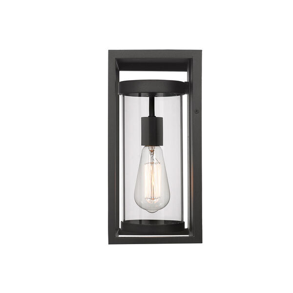 Dunbroch Black 13-Inch One-Light Outdoor Wall Sconce, image 4