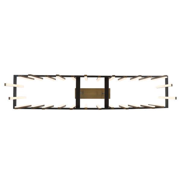 Harmonix Black Aged Brass 56-Inch LED  Chandelier, image 3