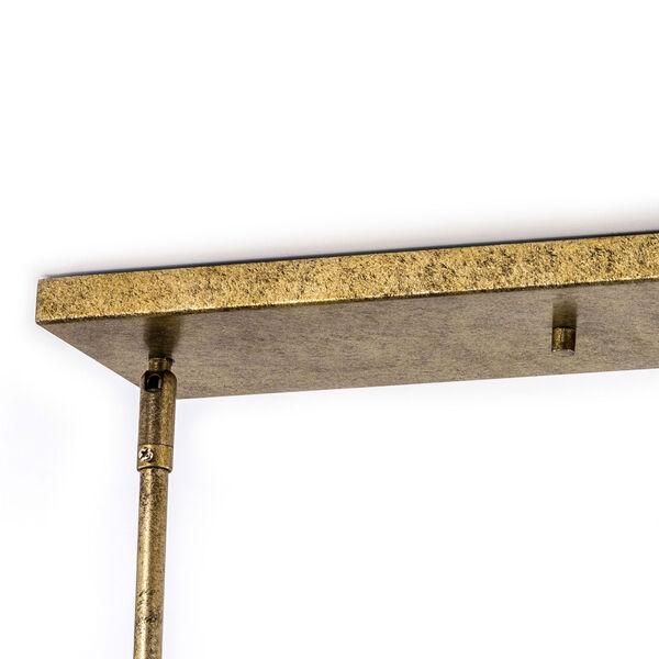 Kenwood Vintage Gold Five-Light Linear Pendant, image 10