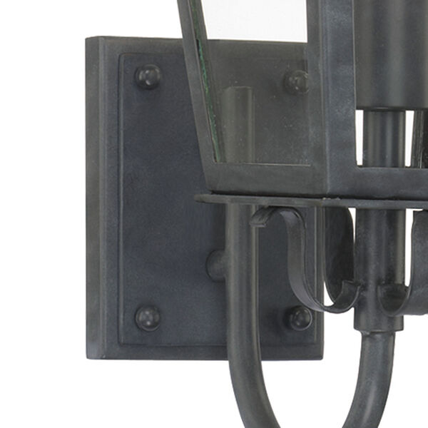 Dumont Graphite One-Light Outdoor Wall Mount, image 3