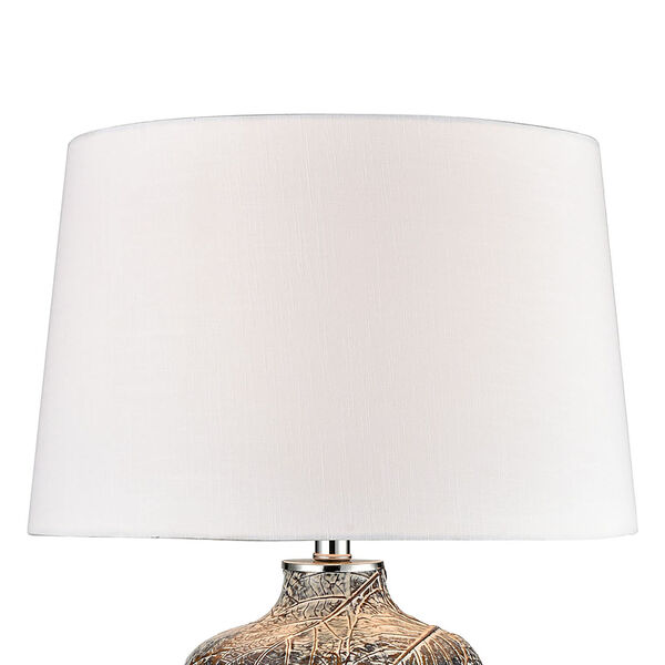 Forage Winter Grey and Clear One-Light Table Lamp, image 3