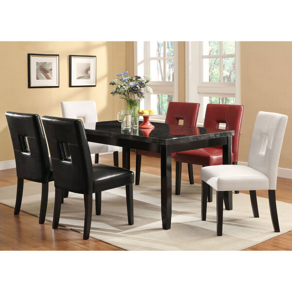 Black Parsons Dining Chair, image 3