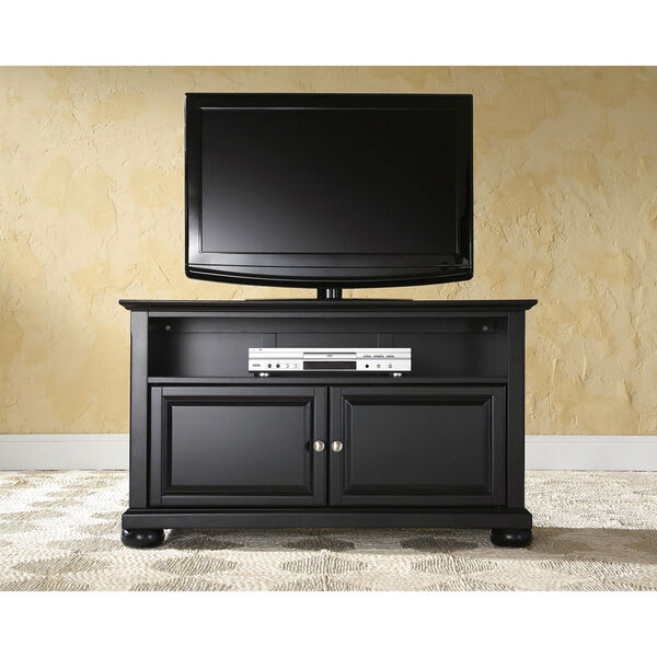 Alexandria 42-Inch TV Stand in Black Finish, image 5
