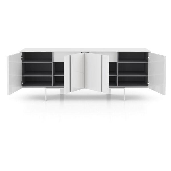 Mott Glossy White Sideboard, image 10
