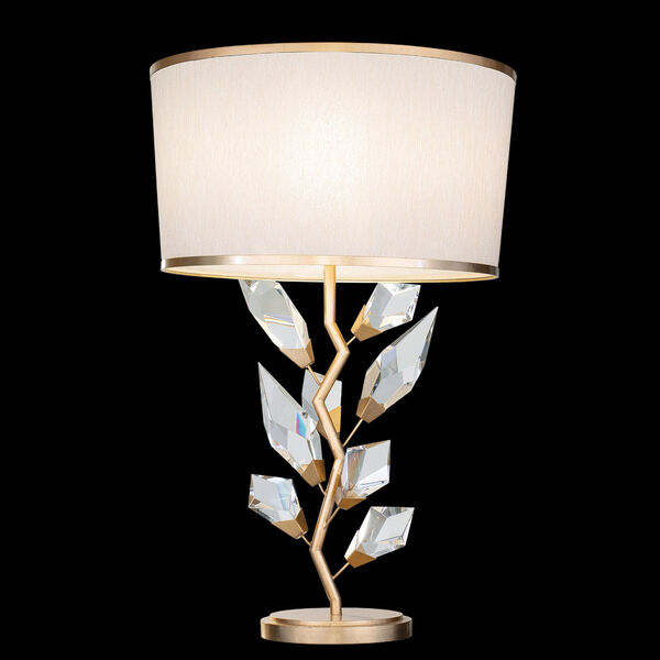 Foret Gold White One-Light Table Lamp, image 1