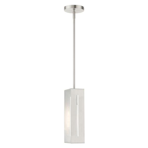Soma Brushed Nickel One-Light Mini Pendant, image 6