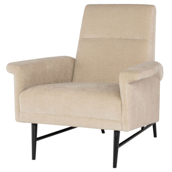 Mathise Almond and Black Occasional Chair, image 1