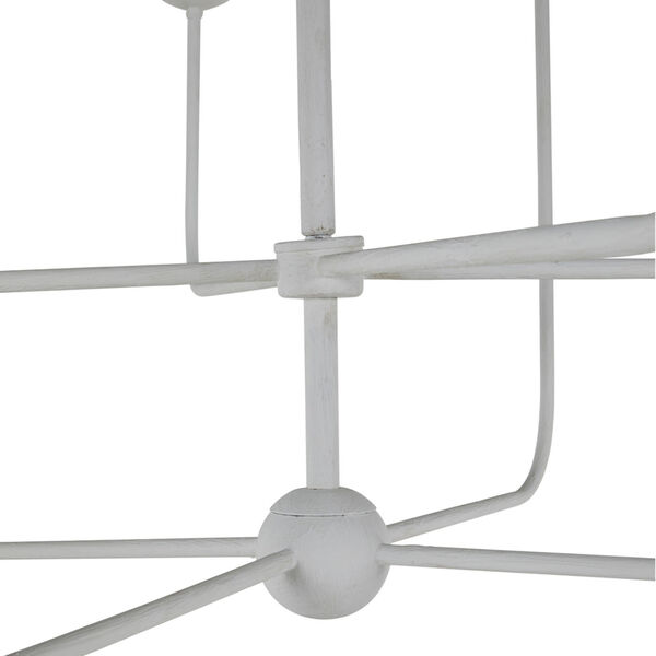 Lilly Plaster White Chandelier, image 5