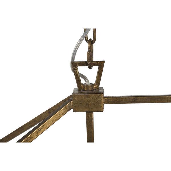 Adler Antique Gold Five-Light Chandelier, image 3