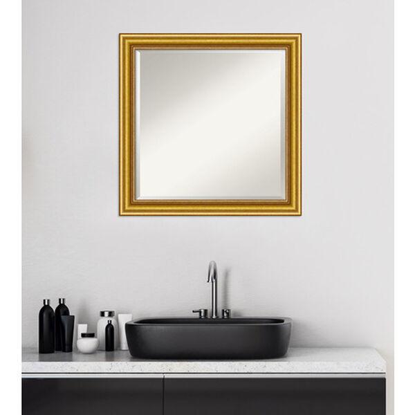Gold 24-Inch Bathroom Wall Mirror, image 5