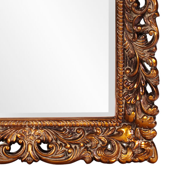 Barcelona Gold Rectangle Mirror, image 3