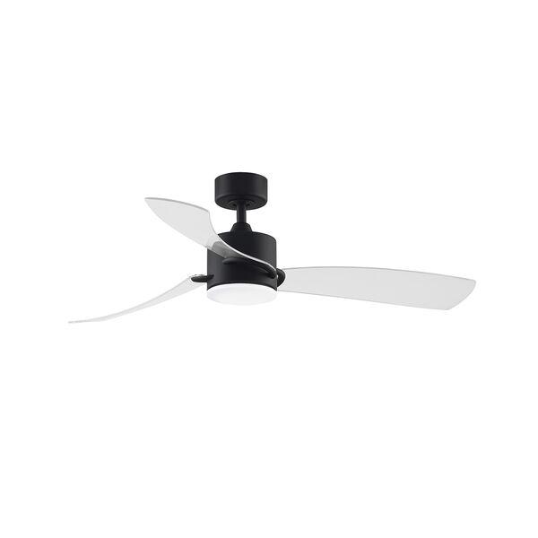 SculptAire Black LED Ceiling Fan, image 1