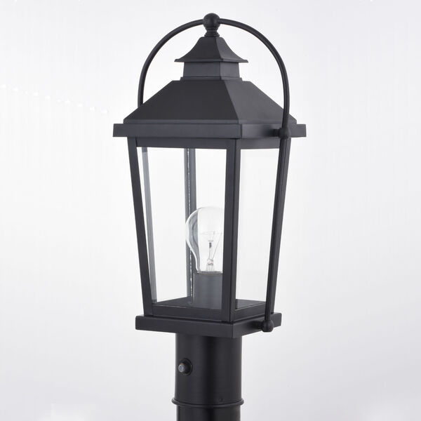Lexington Textured Black One-Light Outdoor Post, image 2