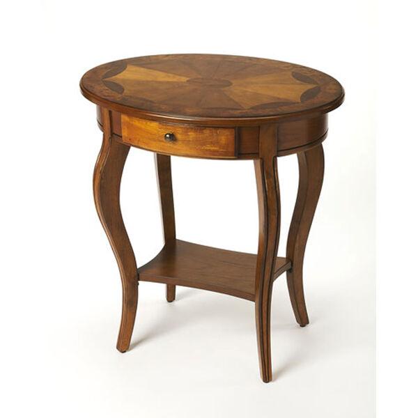 Wellington Medium Brown Accent Table, image 1