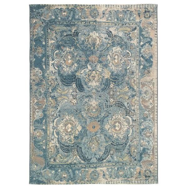 Liora Manne Marina Blue 39 x 59 Inches Kashan Indoor/Outdoor Rug, image 1