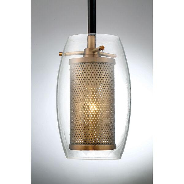 Dunba Warm Brass 5-Inch One-Light Mini Pendant, image 3