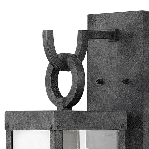 Porter Aged Zinc 19-Inch Outdoor Wall Mount, image 2