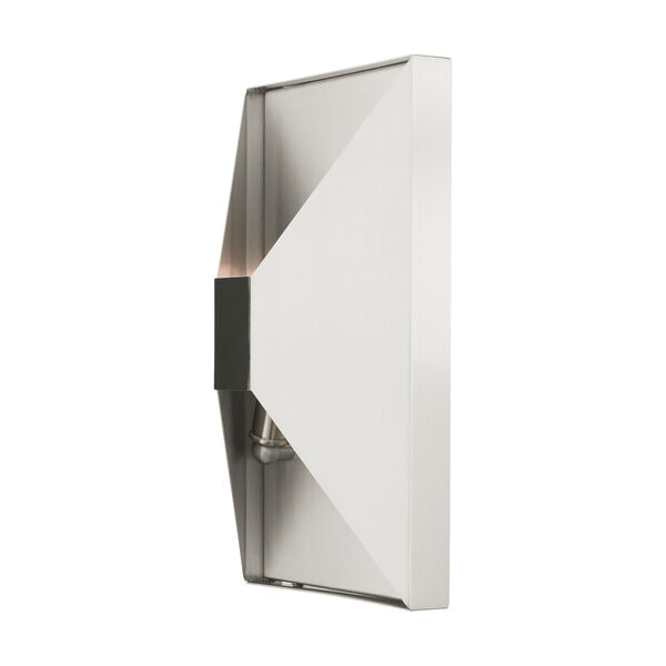 Lexford Brushed Nickel Two-Light ADA Wall Sconce, image 5
