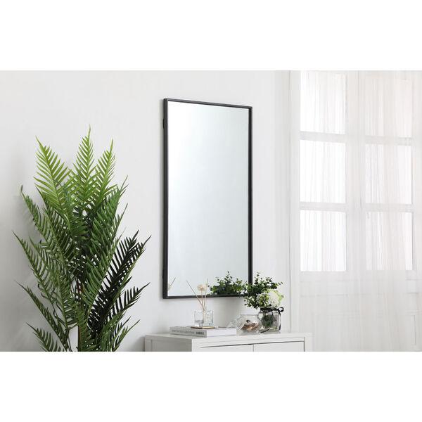 Eternity Rectangular Mirror with Metal Frame, image 3