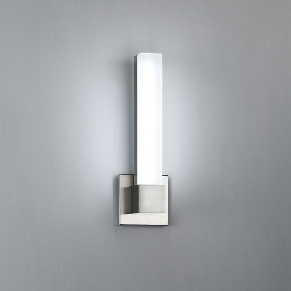 Esprit Brushed Nickel 15-Inch LED Wall Sconce, image 2
