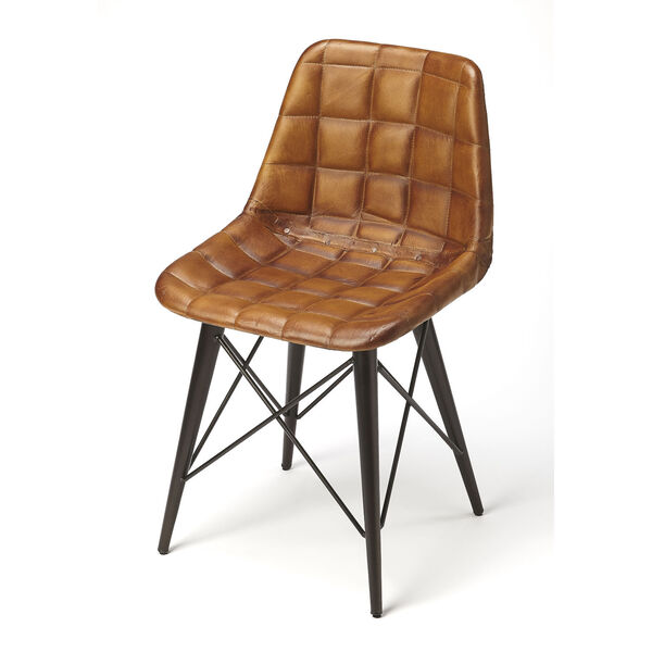 Brown 31-Inch Side Chairs, image 1