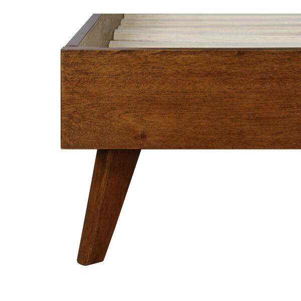 Ian Walnut Platform King Bed, image 4