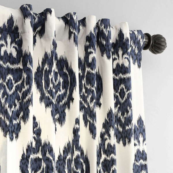 Ikat Multi 50 x 96-Inch Printed Curtain, image 4