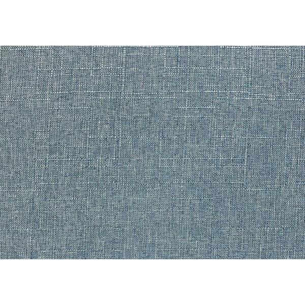 Light Blue and Natural Armless Chair, image 5