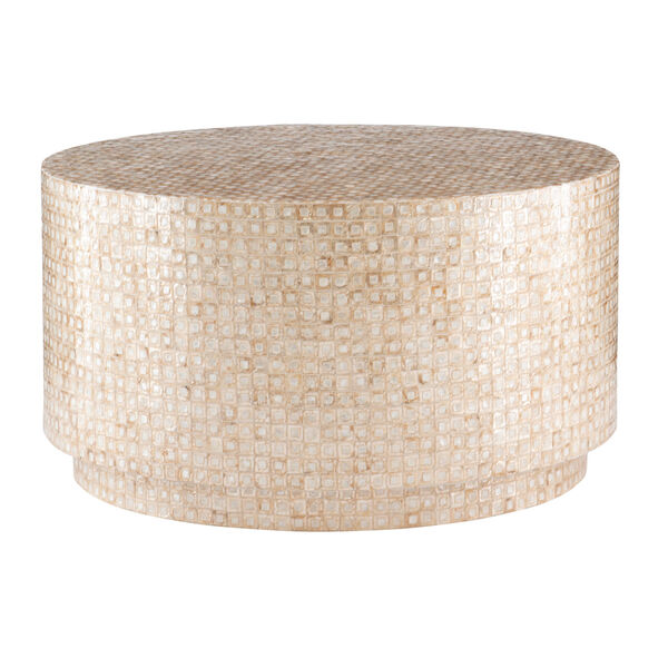 Magana Gold and Ivory Coffee Table, image 1