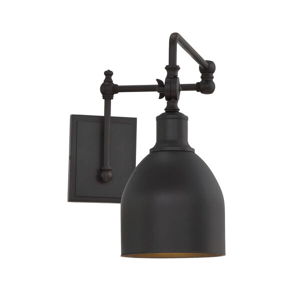 River Station Oil Rubbed Bronze One-Light Wall Sconce, image 3