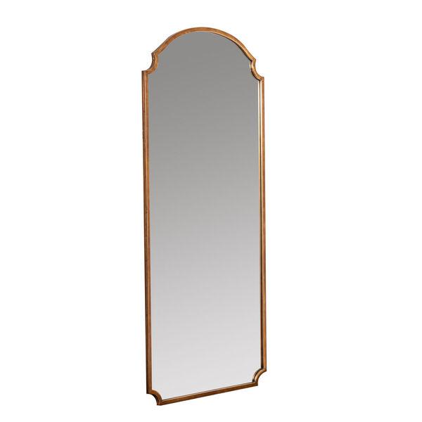 Saxton Gold 70-Inch Floor Mirror, image 3