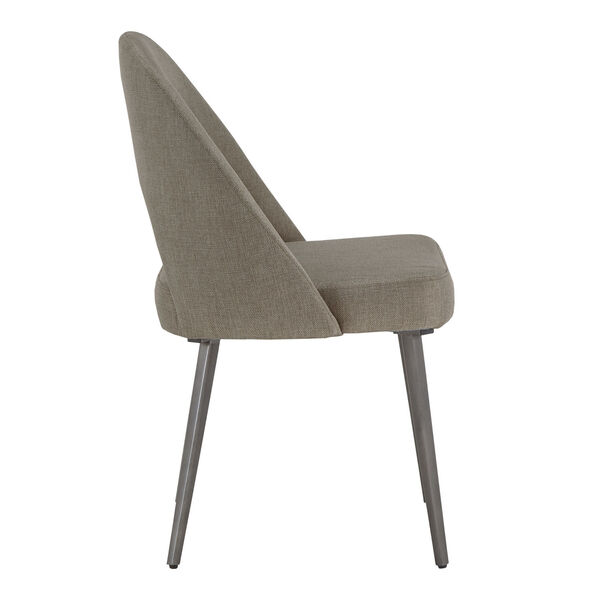 Xavier Gray and Black Dining Chair, Set of Two, image 3
