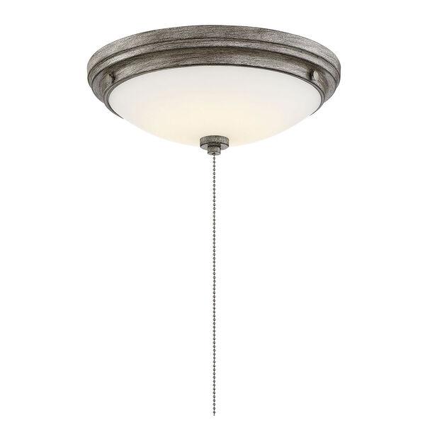 Lucerne Aged Wood One-Light Fan Light Kit, image 4