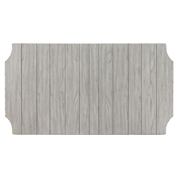 Belhaven Weathered Plank Leg Table, image 5