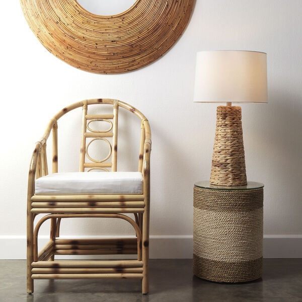 Natural Seagrass One-Light Haven Table Lamp, image 2