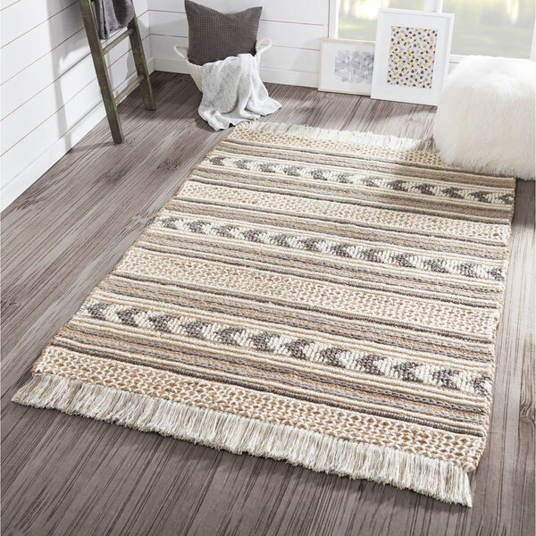 Esme Charcoal Rectangular: 3 Ft. 9 In. x 5 Ft. 9 In. Rug, image 2