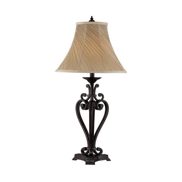 Angers Dark Bronze One-Light Table Lamp, image 1