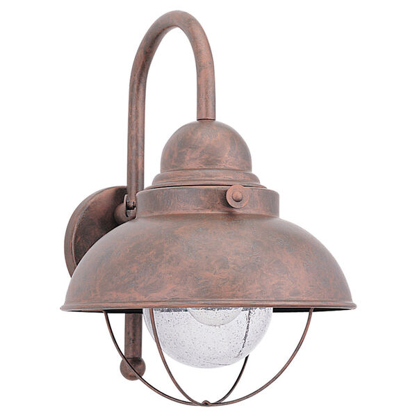 Sebring Outdoor Weathered Copper Wall Mount  , image 1
