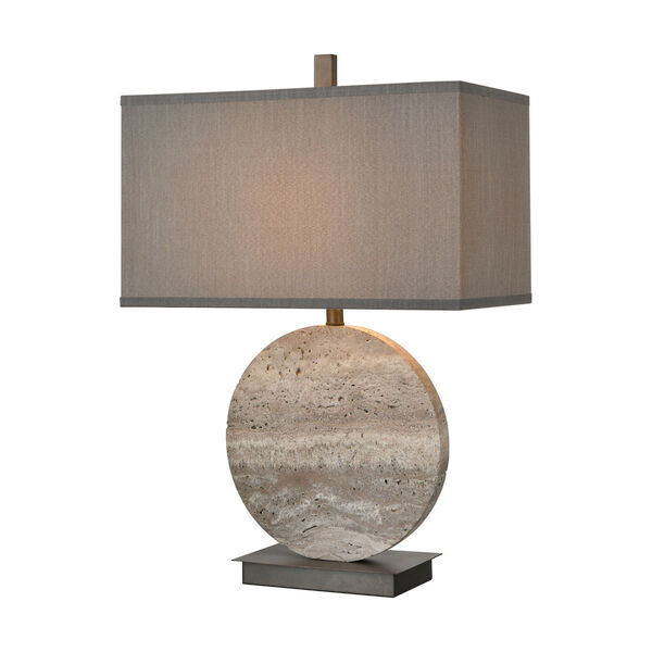 Vermouth Dark Dunbrook and Grey Stone One-Light Table Lamp, image 1