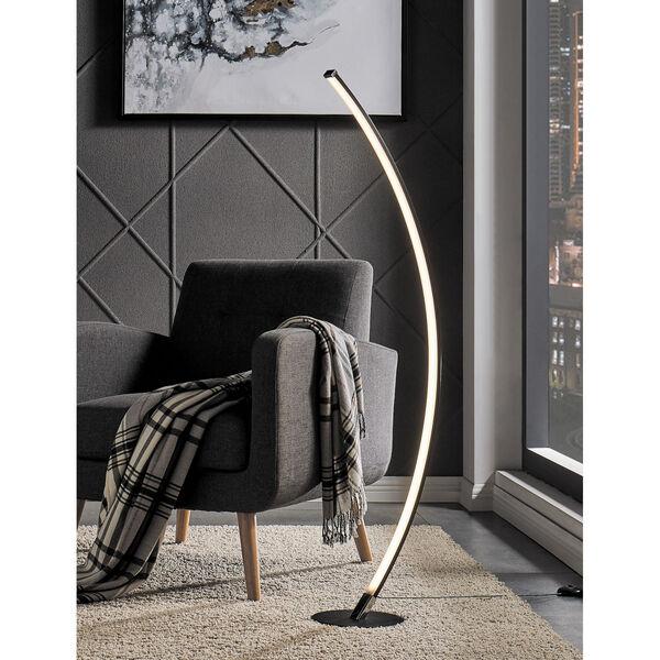 Monita Black 52-Inch LED Floor Lamp, image 2